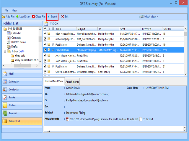 Now Get Best OST Recovery Software